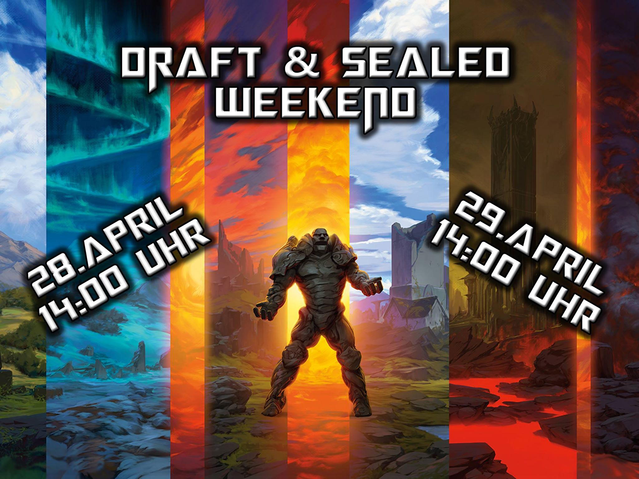 Sealed Party + Draft Weekend DOM